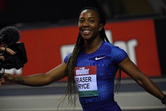 Fraser-Pryce tercepat lari 100m putri dalam 33 tahun terakhir
