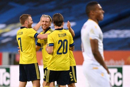 Swedia hantam Armenia 3-1 dalam pemanasan terakhir jelang Euro