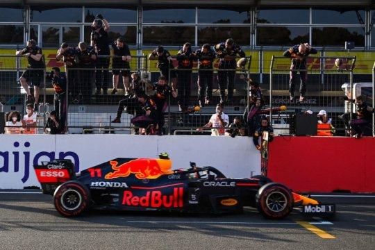 Perez juarai GP Azerbaijan setelah kecelakaan dramatis Verstappen