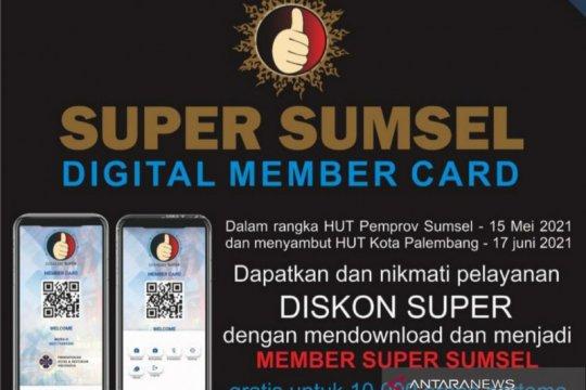 Kartu diskon Super Sumsel digital diminati wisatawan