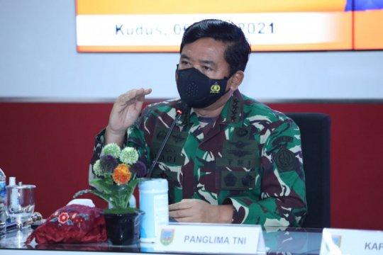 Panglima TNI pimpin rapat terbatas penanganan COVID-19 di Kudus
