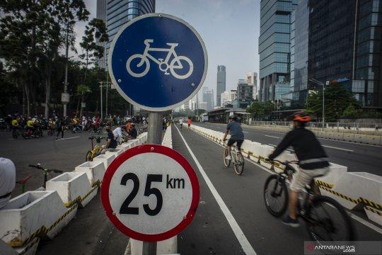 Rencana penambahan jalur sepeda di Ibu Kota