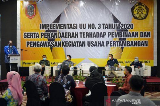 Kementerian ESDM: Desember 2021 perizinan minerba dipindahkan ke pusat