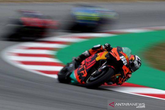 Pebalap MotoGP Miguel Oliveira menjadi yang tercepat di Grand Prix Catalunya