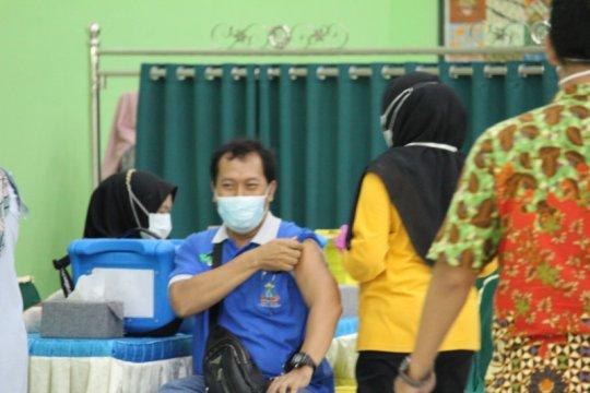 Jelang pembelajaran tatap muka 13.677 guru di Lampung telah divaksin