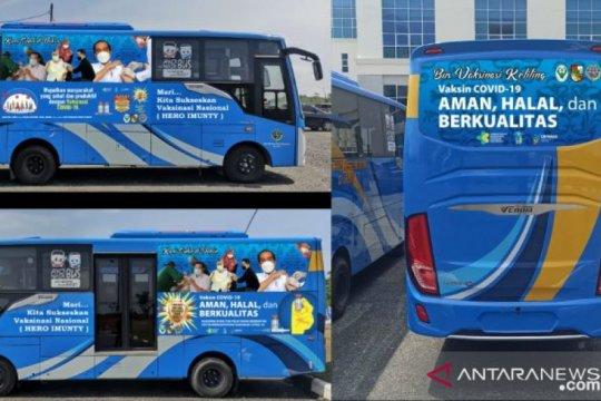 32 mobil vaksin keliling sudah dimanfaatkan 1.076 warga Pekanbaru