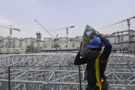 Lapangan latih Jakarta International Stadium bisa digunakan Juli
