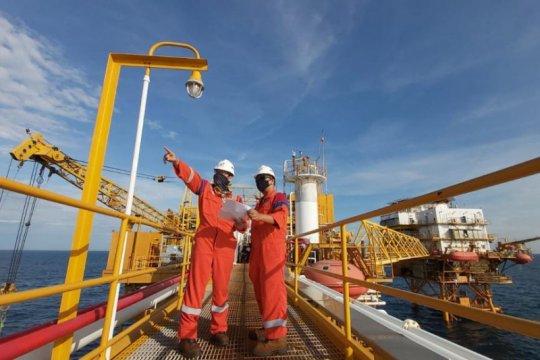 Pertamina temukan banyak gas di lepas pantai Kalimantan Timur