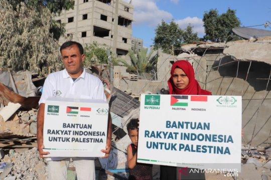 NU Care-LAZISNU salurkan bantuan rakyat Indonesia ke Palestina