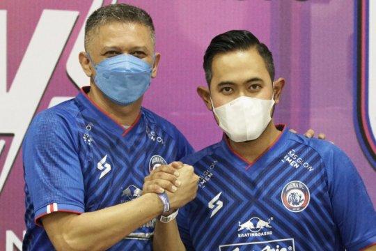 Arema FC tunjuk pengusaha muda Gilang Pramana sebagai presiden klub