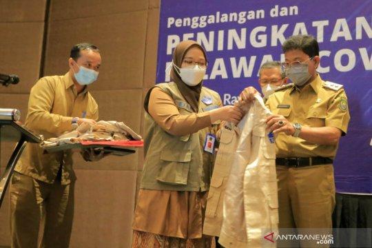 BNPB gelar pelatihan relawan COVID-19 se Tangerang Raya