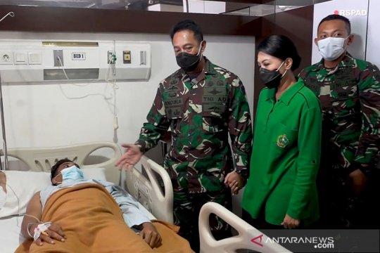 Kasad datangkan kekasih Pratu Romi tertembak saat operasi perbatasan