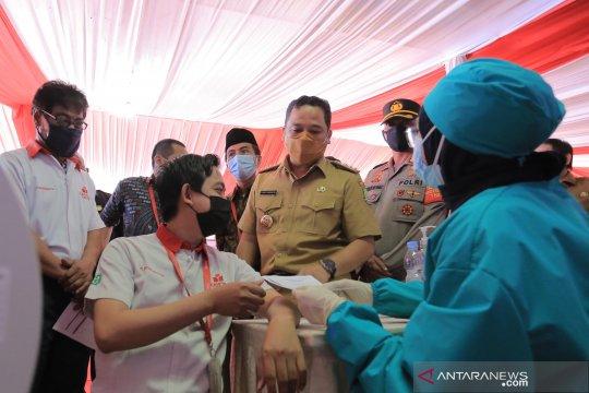 11.000 pekerja di Kota Tangerang sudah ikuti vaksin gotong royong