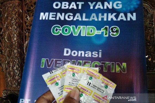 HKTI beri bantuan 5.000 dosis Ivermectin untuk tekan COVID di Jateng