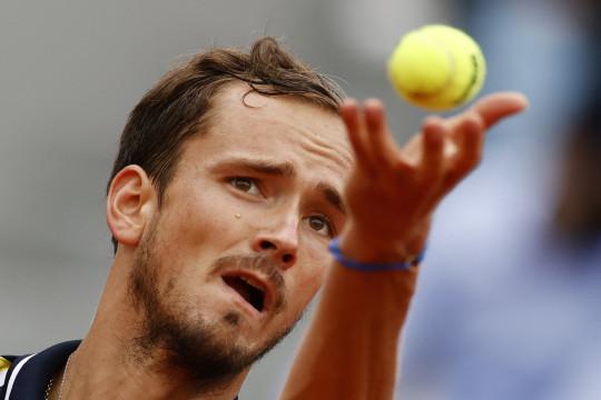 Medvedev tak temui kendala di babak pembuka Cincinnati Masters