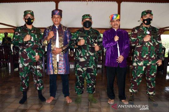 Panglima Kodam XVI/Pattimura resmikan nama baru Korem 152/Baabullah
