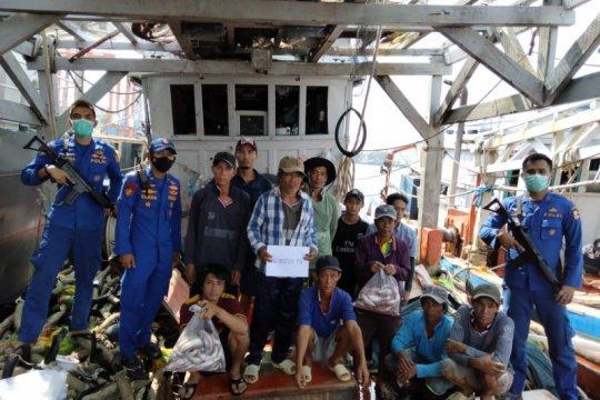 Dirpolair gagalkan pencurian ikan oleh kapal asing di Perairan Natuna