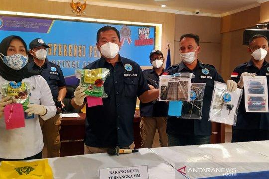 BNNP Jatim gagalkan peredaran 1,6 kilogram sabu jaringan Ibu Kota