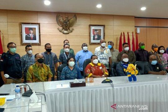 Temui Kominfo, Komisi IV DPR Papua tanya perbaikan jaringan internet