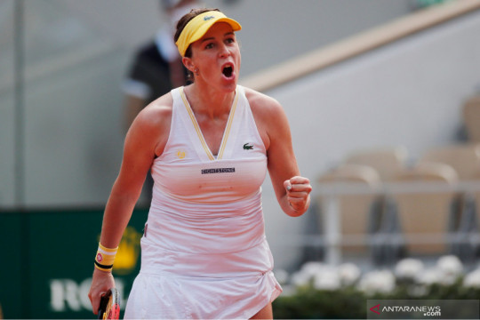 Tenis French Open: Pavlyuchenkova melaju ke semi final