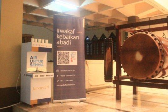 Masjid Raya Bandung kini dilengkapi mesin air minum gratis