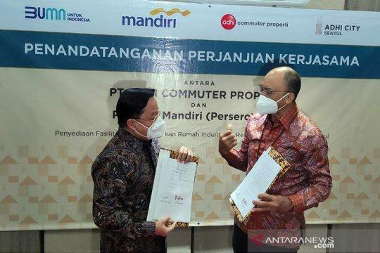Bank Mandiri gandeng Adhi Commuter Properti perkuat segmen KPR