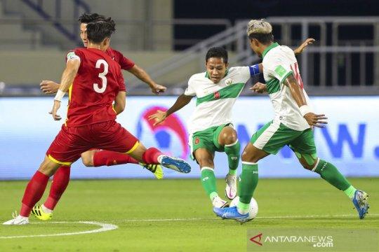 Timnas Indonesia kalah dari Vietnam 0-4