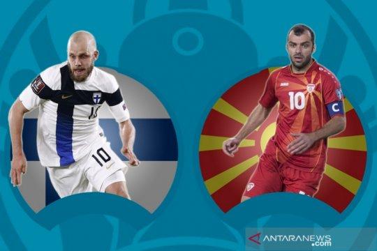Walau debutan, Finlandia dan Makedonia Utara bukan pelengkap EURO 2020