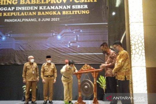 Wagub Bangka Belitung resmikan Tim Tanggap Insiden Keamanan Siber