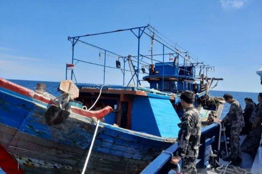 KKP amankan tujuh kapal menangkap ikan secara ilegal di Riau