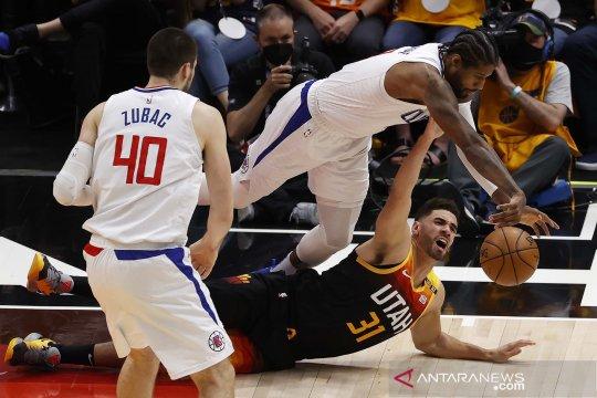 NBA Playoff : Utah Jazz kalahkan Clippers pada gim pertama semifinal wilayah barat