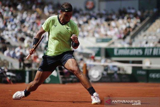 Prancis Terbuka 2021 : Nadal melaju ke semifinal Roland Garros