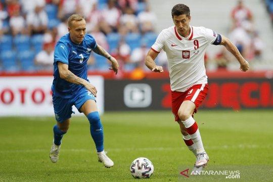 Polandia dipersulit Islandia dalam pemanasan terakhir jelang EURO 2020