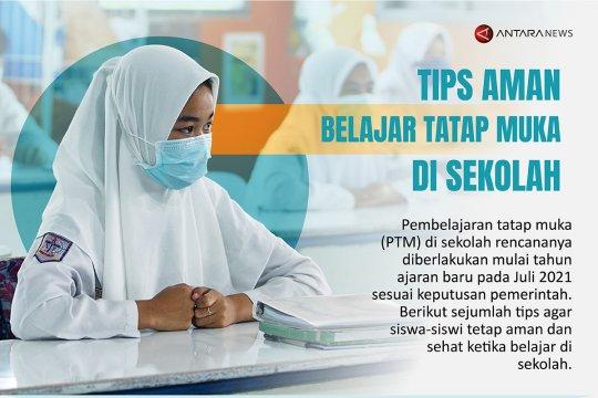 Tips aman belajar tatap muka di sekolah