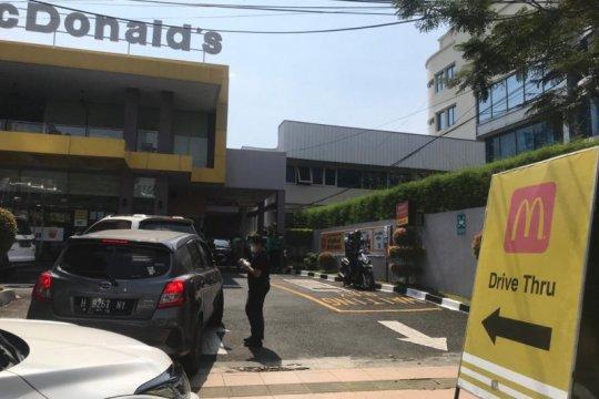 Sejumlah resto McDonald's di Semarang ditutup karena kerumunan pembeli