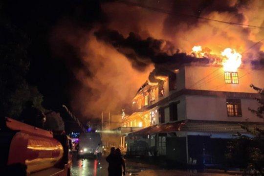 Kebakaran rumah di Duri Kosambi Jakbar akibat korsleting listrik