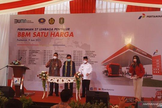 BPH-Migas resmikan 27 SPBU BBM satu harga di Pontianak