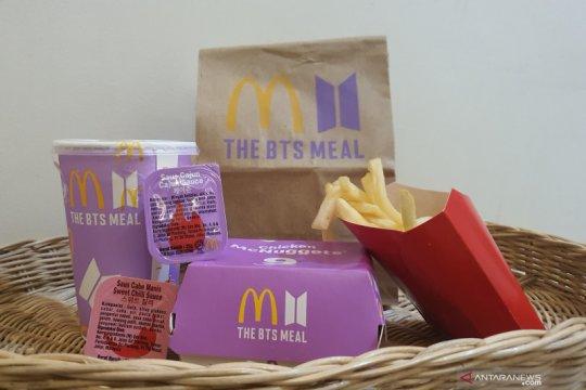 Menjajal sajian spesial BTS Meals