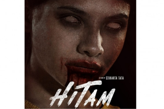 "Perdana, Sara Fajira akting dan isi soundtrack untuk film ""Hitam"""