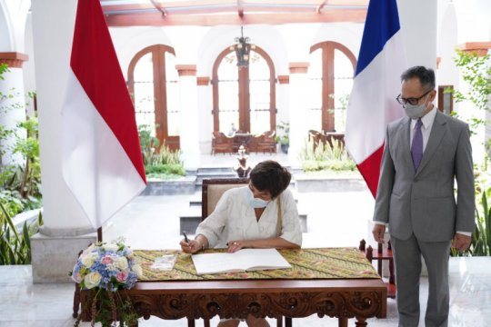 Indonesia-Prancis perkuat kerja sama maritim untuk pembangunan ekonomi