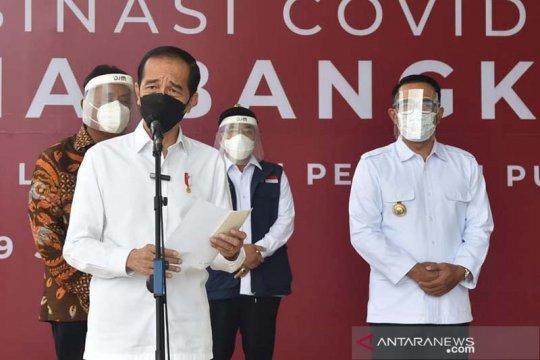 Jokowi minta kepala daerah segera laksanakan vaksinasi massal