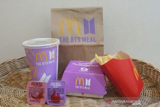 BTS Meal resmi rilis, banyak McD tutup layanan di aplikasi pesan antar