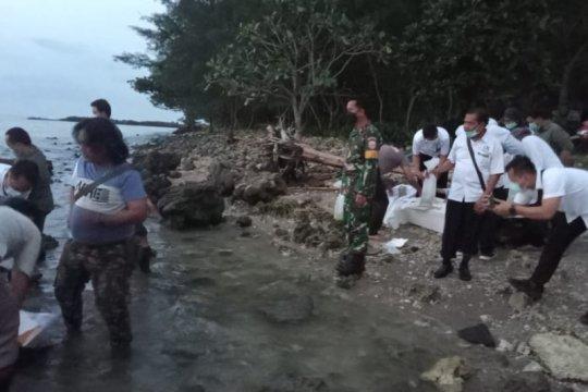 Lanal Banten gagalkan penyelundupan benur lobster senilai Rp7,8 miliar