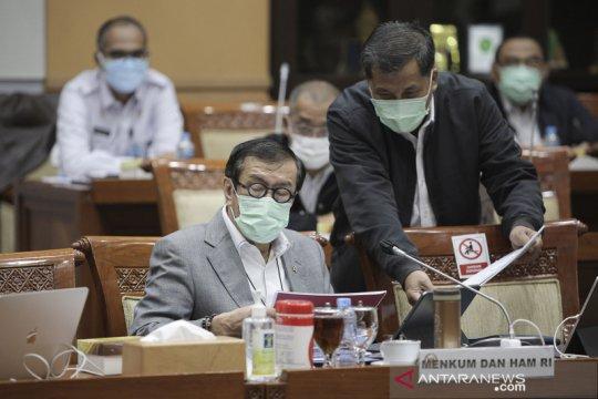 Komisi III DPR-Kemenkumham sepakati RKUHP masuk Prolegnas Prioritas