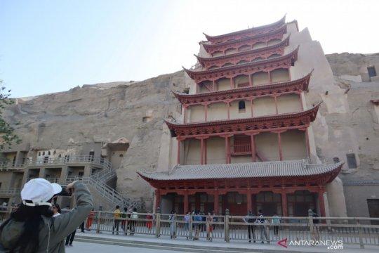 Wisata situs Buddha kuno di Gurun Gobi