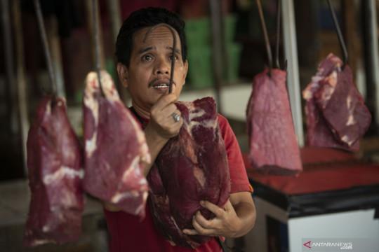 Harga daging sapi dan kambing di Jakarta naik saat Idul Adha