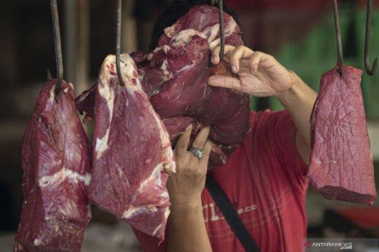 Daging sapi has naik jadi Rp135.348 per kg di Jakarta