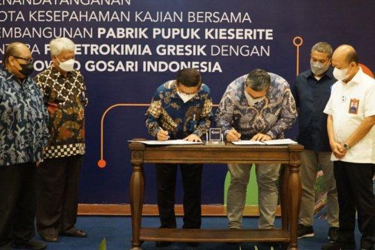 Pupuk Indonesia kaji pembangunan pabrik pupuk kieserit