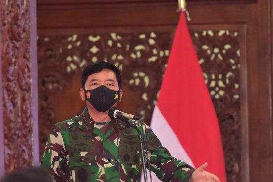 Panglima TNI: Utamakan sinergi tiga pilar tekan klaster di Lamongan