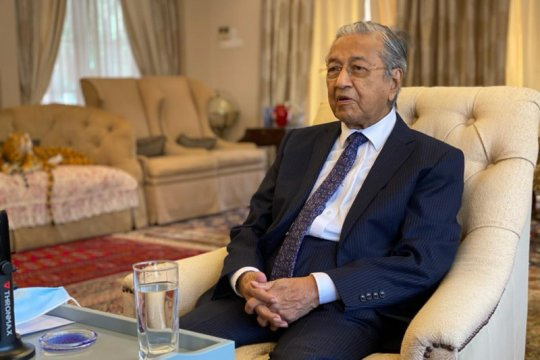 Mahathir bertemu Raja Malaysia
